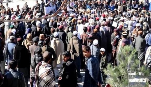 Afganistan'da hükümet karşıtı gösteriler devam ediyor