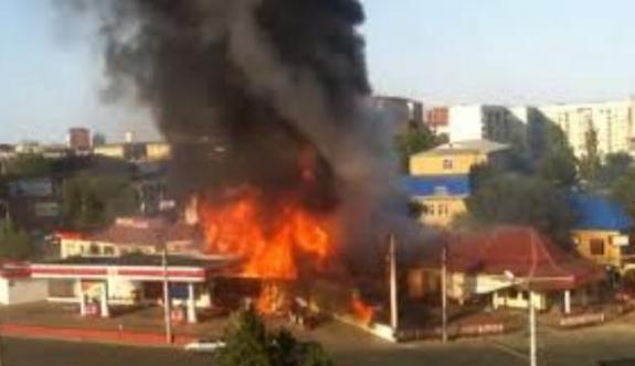 Benzin istasyonunda patlama: 10 ölü