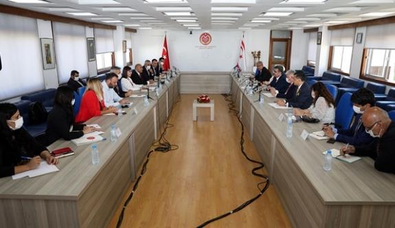 Meclis grupları toplantı yaptı