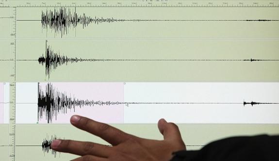 Şili'de deprem!