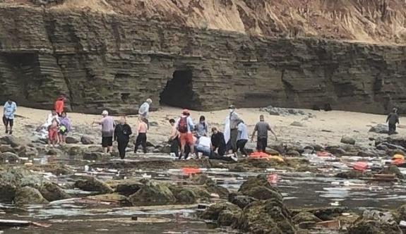 Tekne alabora oldu: 2 ölü, 10 kayıp!