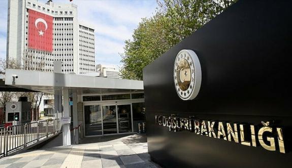 Türk Dışişleri'nden Yunanistan'a tepki