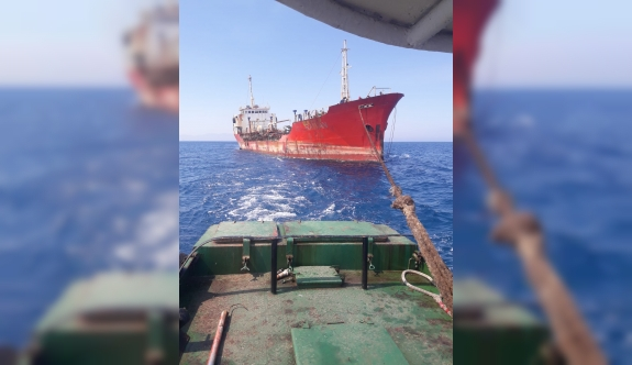 Gülseren'deki tanker kurtarıldı