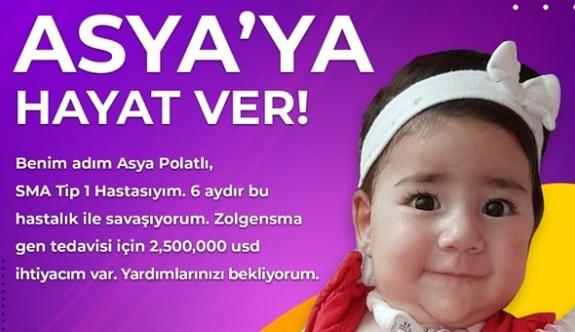 Asya bebek için kampanya devam ediyor