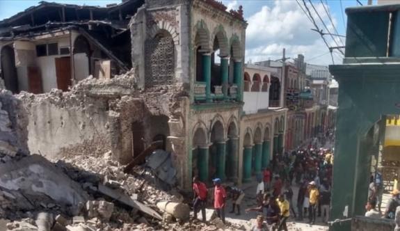 Haiti'de ölü sayısı 2 bin 207 oldu