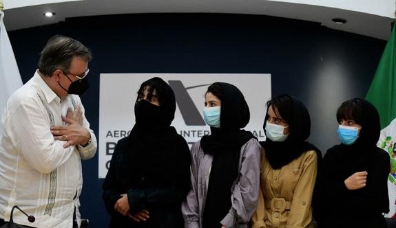 Meksika, 5 Afgan kadını ülkeye kabul etti
