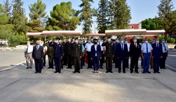 Gaziler Günü için tören düzenlendi