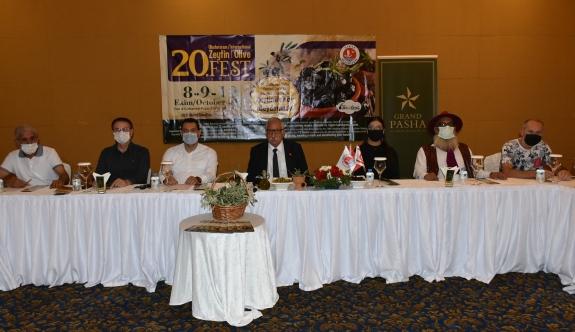 20. Uluslararası Zeytin Festivali'nin tanıtımı yapıldı
