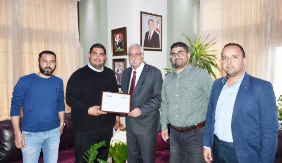 Girne Belediyesi'nden uluslararası başarı