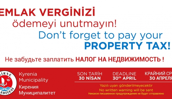 Do Not Forget to Pay Your Property Tax