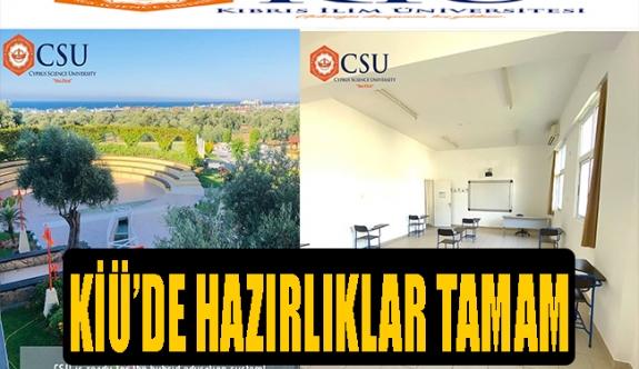 Kıbrıs İlim Üniversitesi, Covid-19 için koruyucu önlemleri en üst düzeye çıkardı