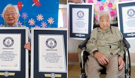 Yaşayan en yaşlı ikiz!