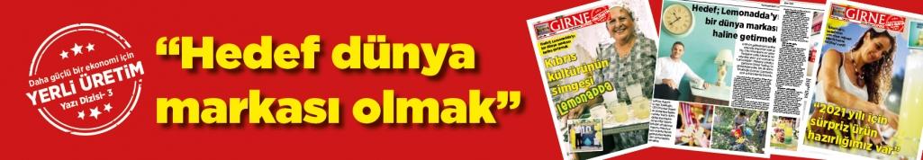 Kıbrıs kültürünün  simgesi: Lemonadda