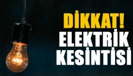 Çatalköy'de Yarın 6 Saatlik Elektrik Kesintisi...