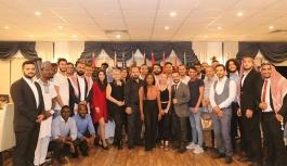 GAÜ, Uluslararası Öğrenci Toplulukları için 'teşekkür' gecesi düzenledi
