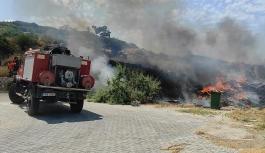 Esentepe yakınlarında korkutan yangın