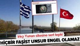 İletişim Başkanı Fahrettin Altun'dan ırkçı Yunan sitesine tepki.