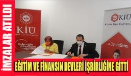 KİÜ ile Asbank arasında dev işbirliği