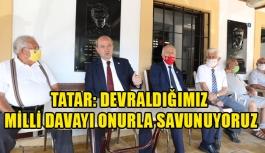 Tatar, Sönmezliler Ocağını ziyaret etti
