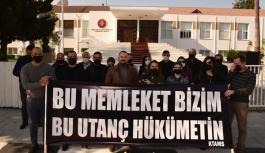 KTAMS'tan Özgürgün protestosu