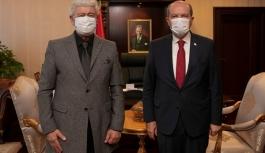 Cumhurbaşkanı Tatar, Prof. Dr. Ata Atun'u Kabul Etti