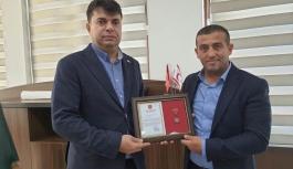 Milli İradeye Saygı Platformu'na bronz madalya