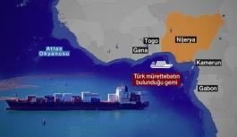 Korsan saldırısına uğrayan Türk gemisi limana demirledi