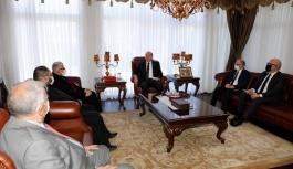 Tatar, Maronit din adamlarıyla görüştü