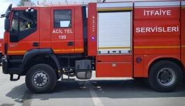 Lapta'daki yangın söndürüldü
