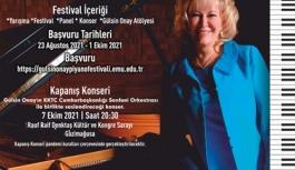 Gülsin Onay Piyano Festivali Ekim'de