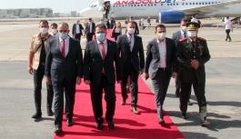 Başbakan Saner yurda döndü