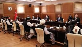 TC Dışişleri, Taliban heyetiyle görüştü