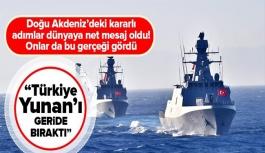 Türkiye Doğu Akdeniz'de Yunanistan'ı...