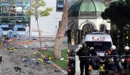 Sultanahmet'teki canlı bomba saldırısı...