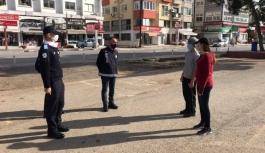 Yasakları ihlal eden 5 kişiye ceza