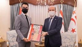 Tatar, Yiğitcan Hekimoğlu'nu kabul etti