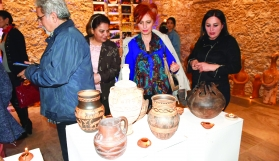 Vounus Works were Exhibited In Kyrenia